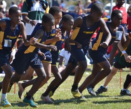 Pfunanane's First Athletics Meet